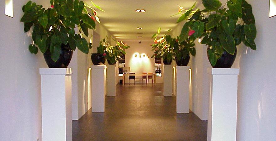 Winkelruimte vossenhof architectengilde uw architect voor bijzondere ontwerpen van woningen - Interieur binnenkomst ...