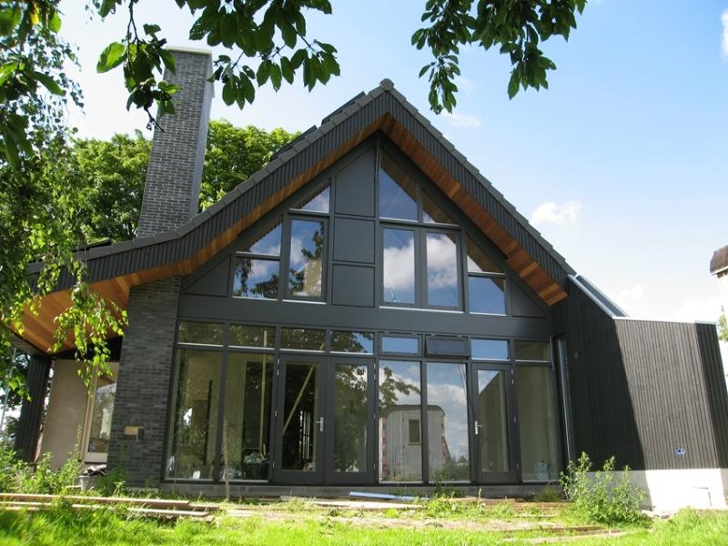 Landelijke woning kerkwijk architectengilde uw architect voor bijzondere ontwerpen van for Moderne stijl gevel