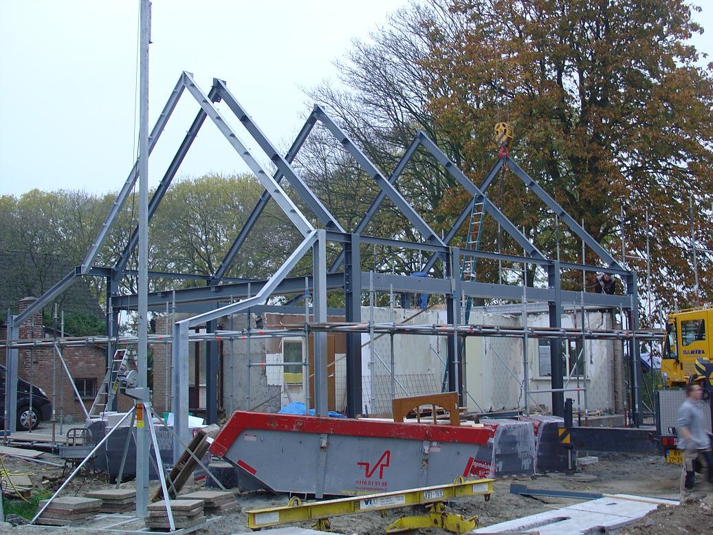 Staalconstructie: bouwen over bestaande bebouwing ...