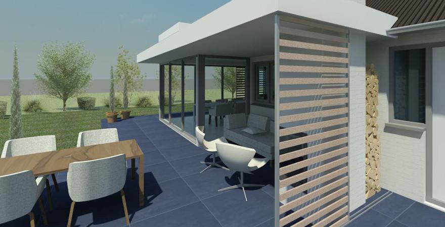 Verfrissende renovatie en uitbreiding woning architectengilde uw architect voor bijzondere - Uitbreiding veranda ...
