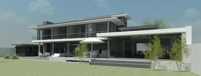 Moderne vrijstaande woonvilla met Wellness zwembad