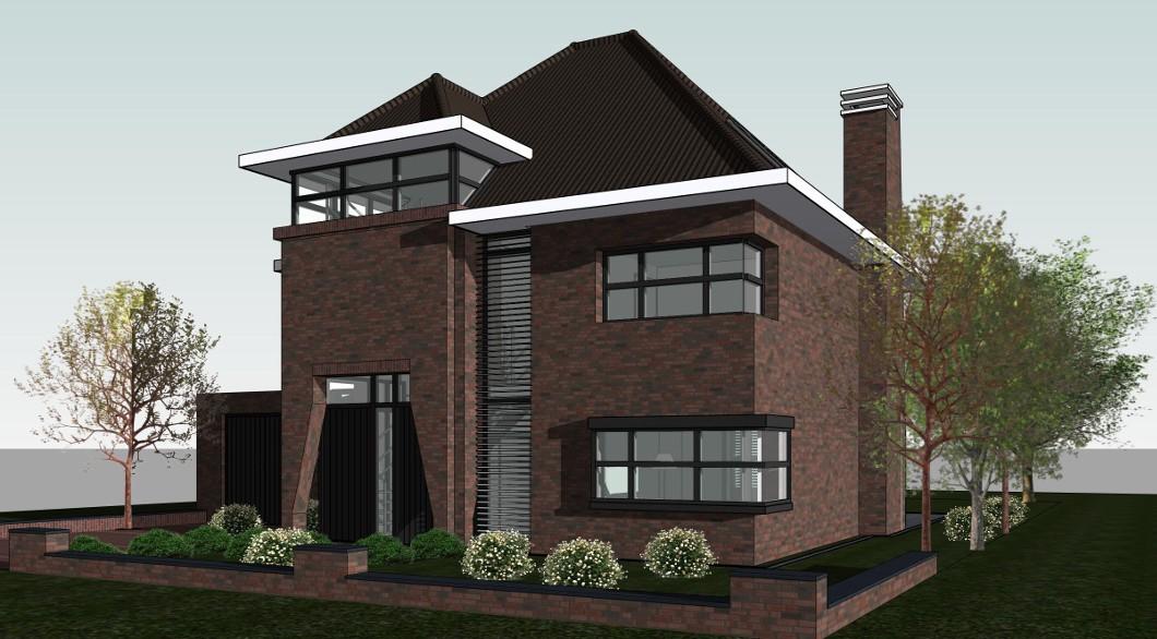 Architectuur chique dertiger jaren woning architectengilde uw architect voor bijzondere - Renovateer een huis van de jaren ...