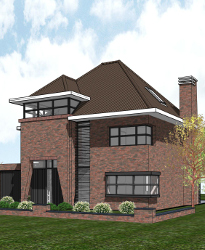 Bijzondere stijlvolle villa architect ontwerp