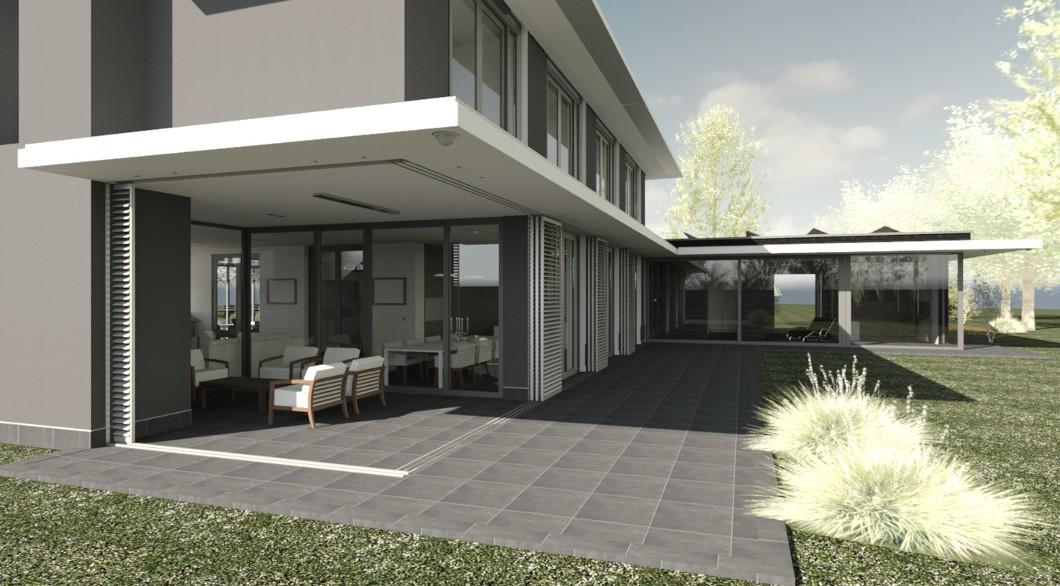 Idee n inspiratie foto 39 s van verbouwingen homify - Veranda modern huis ...