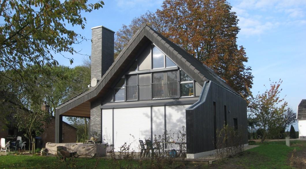Moderne landelijke woning met veranda architectengilde uw architect voor bijzondere ontwerpen - Huis met veranda ...