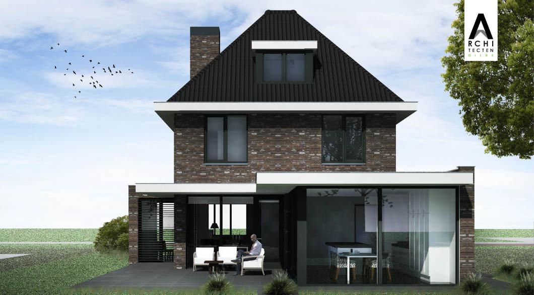 Moderne jaren 30 woning stijlvolle uitstraling. - ArchitectenGilde uw ...