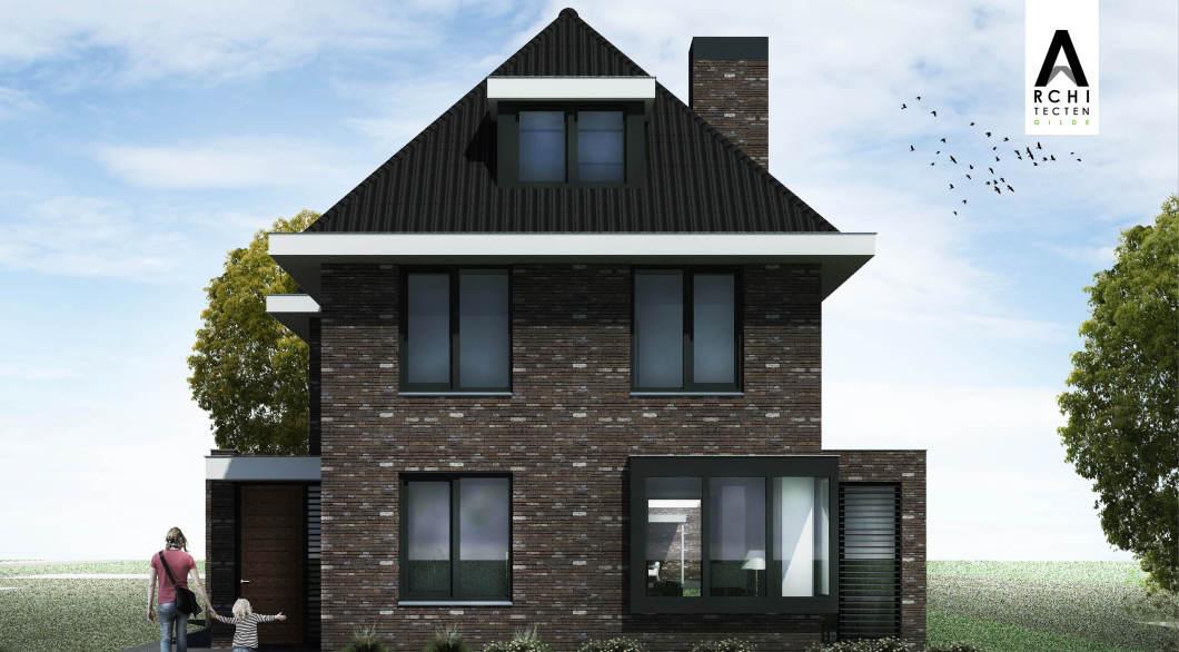 Moderne jaren 30 woning stijlvolle uitstraling architectengilde uw architect voor bijzondere - Ontwerp jaren ...