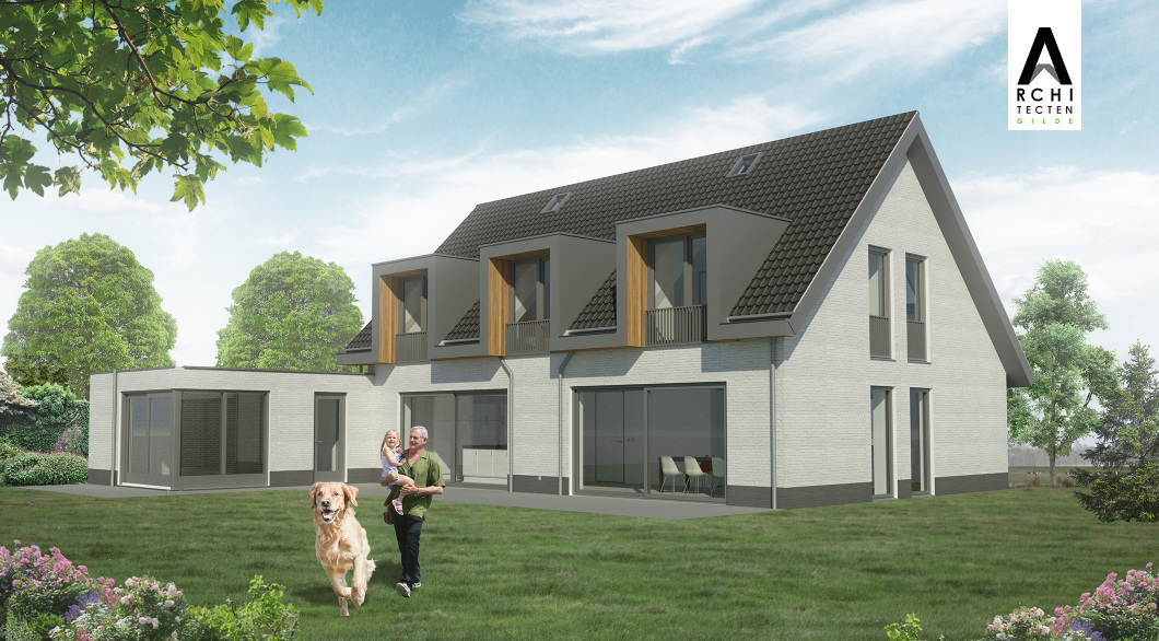 Bijzonder verbouwplan jaren 90 woning architectengilde uw architect voor bijzondere ontwerpen - Ontwerp jaren ...