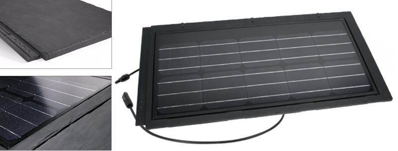 Dakpan geintegreerde zonnecellen