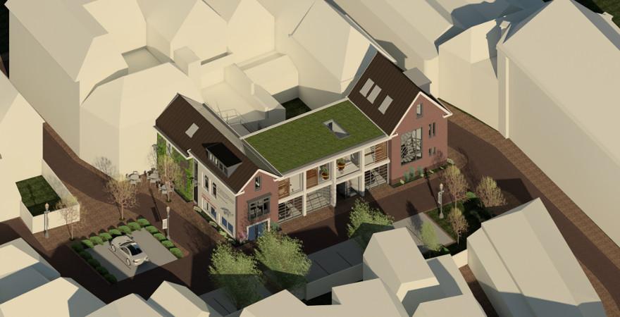 Stedenbouwkundig gebiedsmodel toekomstige invulling binnengebied Den Bosch (binnenstad).