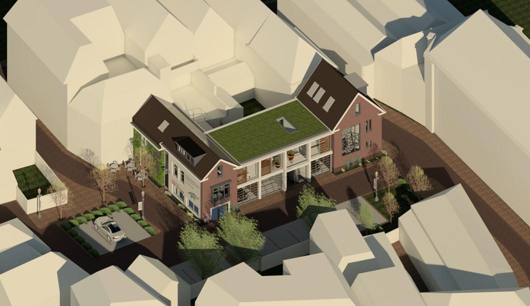 Stedenbouwkundig gebiedsmodel, binnengebied centrum Den Bosch