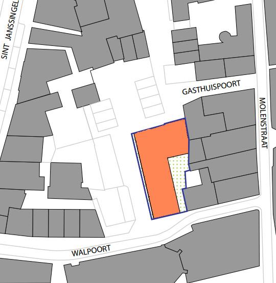 Locatiekaart Walpoort 3, Den Bosch