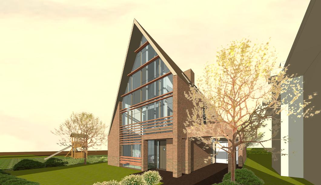 Oranjerie kas-woning energiezuinig ontwerp architect.