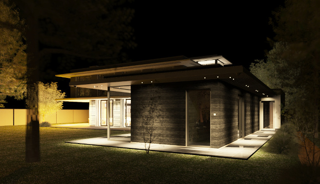 Bouwvergunning verleend luxe villa