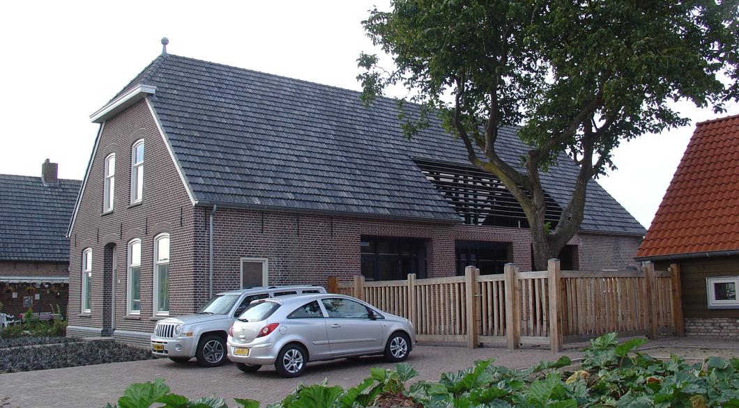 Renovatie vernieuwbouw woonboerderij te Elshout