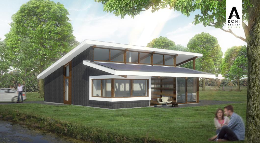 Seniorenwoning gelijkvloerse woning energiezuinig BENG Post & Beam