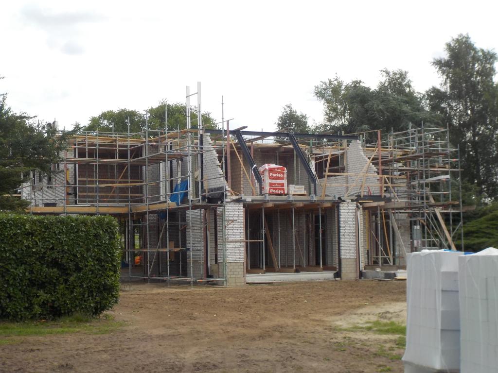 Staalconstructie Portaal dakkapel Villa Vlijmen