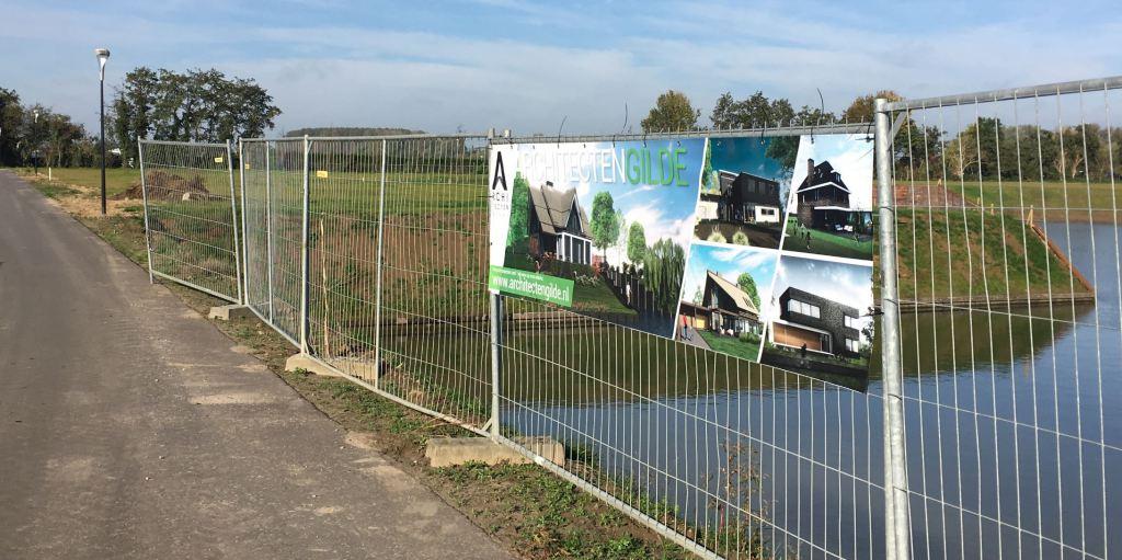 Aanvang bouw Bouwkavels aan water Waterfront De Veene