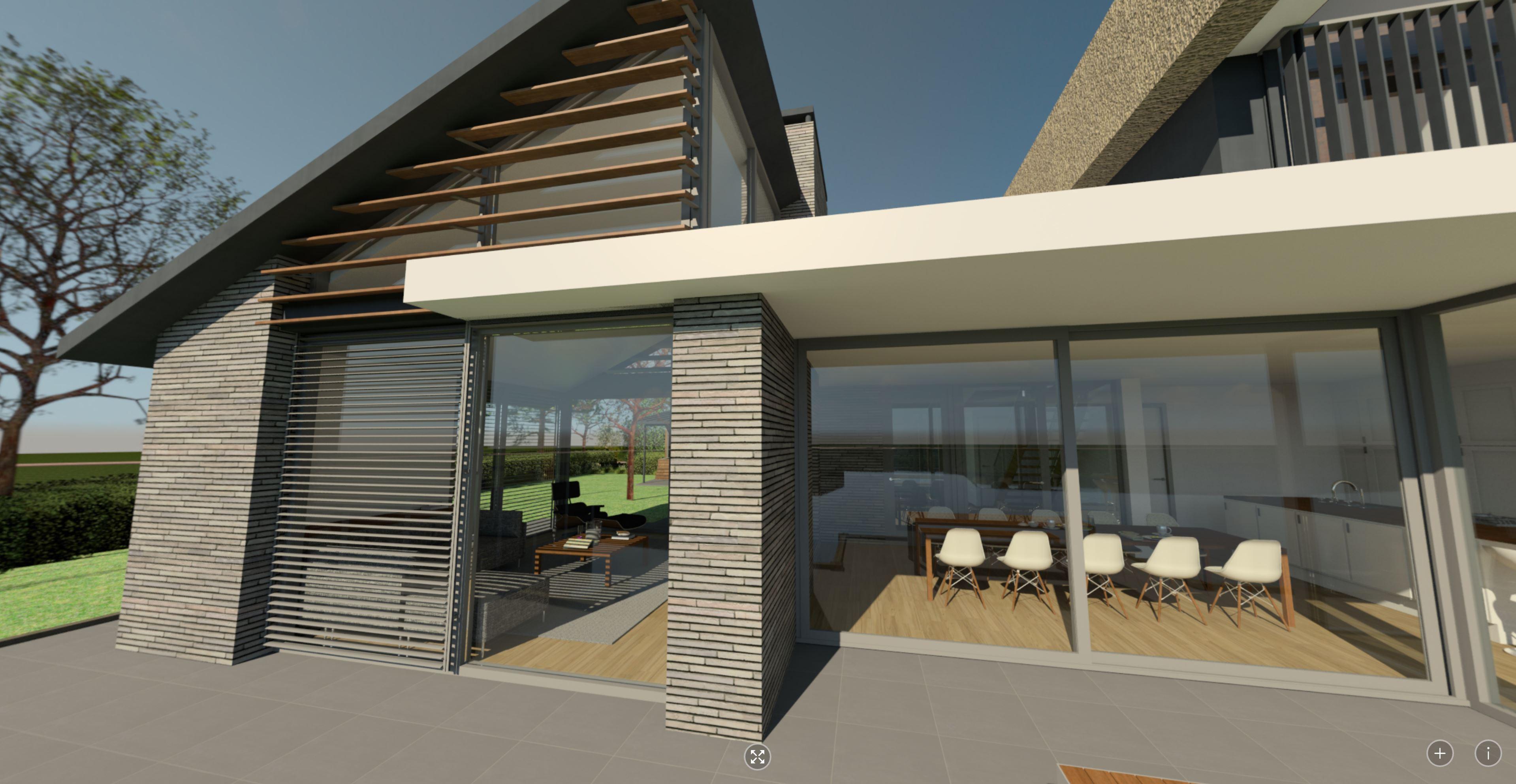 360 waterzicht leefkeuken en waterzijde terras | Waterfront De Veene