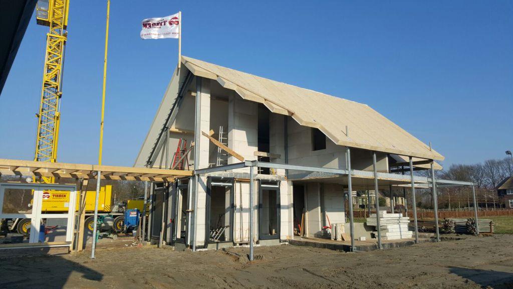 In aanbouw hoogste punt bereikt Tibben Marienheem aannemingsbedrijf