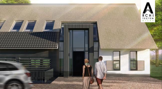 Afbeelding: Energiezuinige en duurzame moderne woonboerderij 2.0