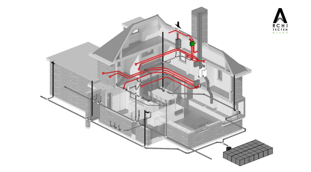 Afbeelding: 3D-visualisatie installaties