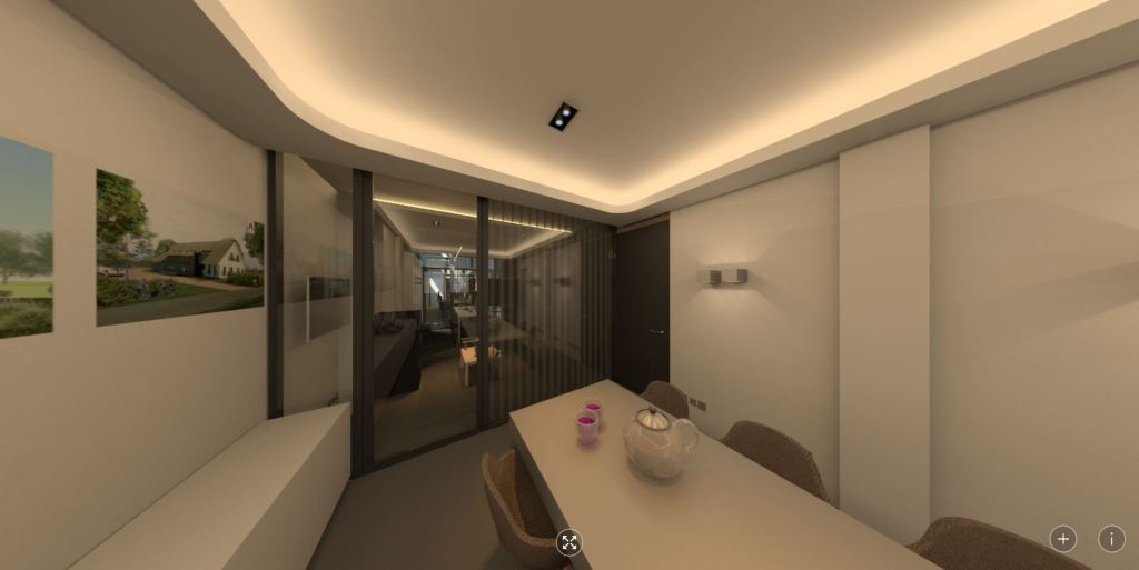 360 panorama: kantoor spreekkamer