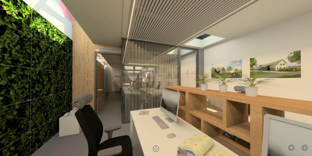 360 panorama: werkruimte tekenkamer