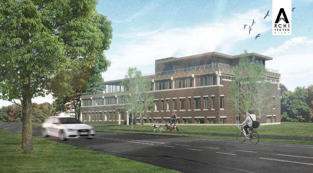 Herbestemming kantoorgebouw tot appartementencomplex (1)