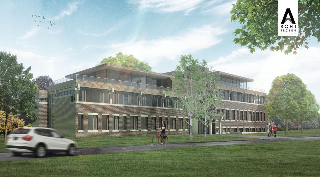Herbestemming kantoorgebouw tot appartementencomplex