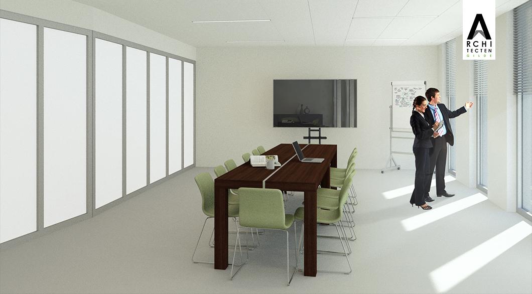 Herinrichting kantoor - optie 2 (vergaderen) (2)