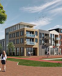 Centrumplan Giessen Rijswijk Winkels en appartementen