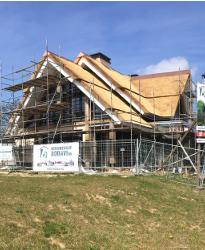 Villa architect Waterfront De Veene nadert voltooiing